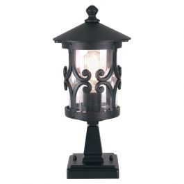 Elstead Hereford Outdoor Pedestal Lantern