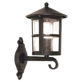 Elstead Hereford Grande Wall Up Outdoor Lantern