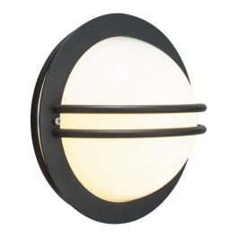 Elstead Bremen Black Opal Outdoor Light