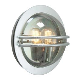 Elstead Bremen Galvanised Smoked Outdoor Light