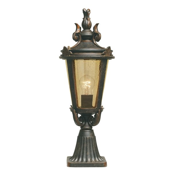 Baltimore Outdoor Pedestal Lantern - Medium