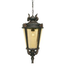 Elstead Baltimore Chain Outdoor Lantern - Large