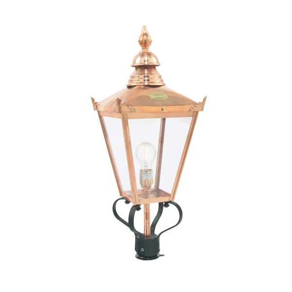Elstead Chelsea Garden Outdoor Light Head Only in Copper