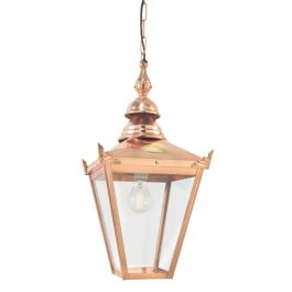Chelsea Chain Outdoor Light in Copper