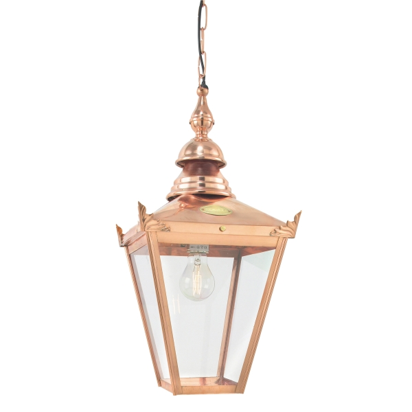 Elstead Chelsea Chain Outdoor Light in Copper