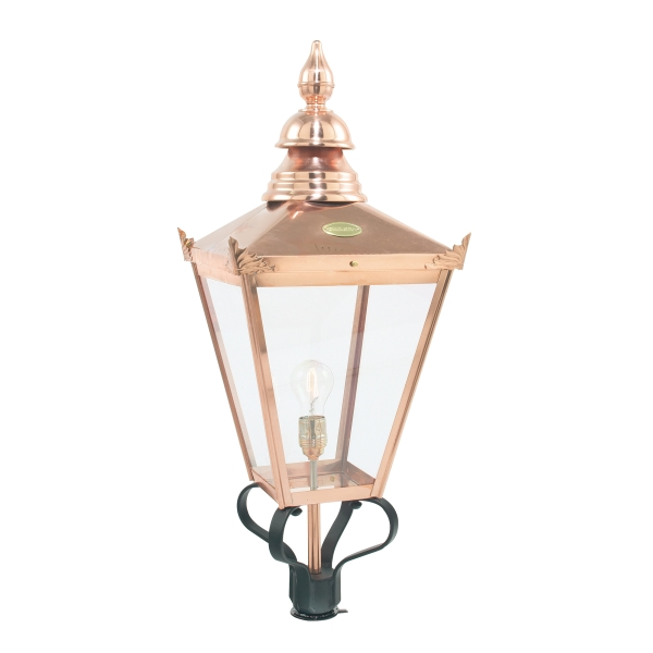 Elstead Chelsea Grande Outdoor Light Head Only in Copper
