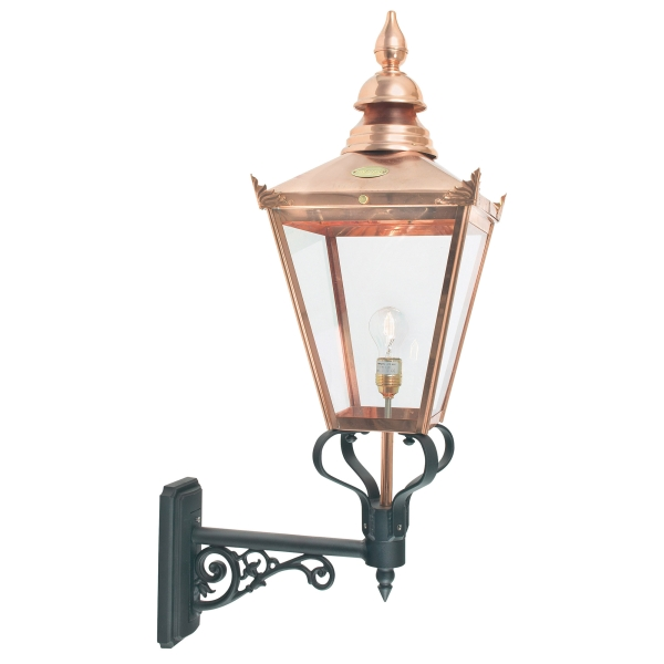Elstead Chelsea Grande Up Outdoor Light in Copper