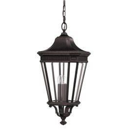 Cotswold Lane Large Chain Outdoor Lantern