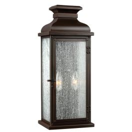 Pediment Medium Outdoor Wall Lantern