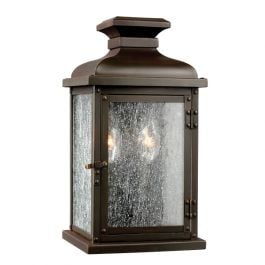 Pediment Small Outdoor Wall Lantern