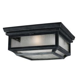 Shepherd 2lt Flush Mounted Outdoor Light