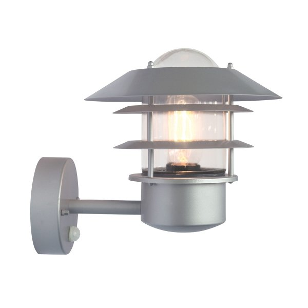 Helsingor Outdoor Wall Lantern with PIR Motion Sensor