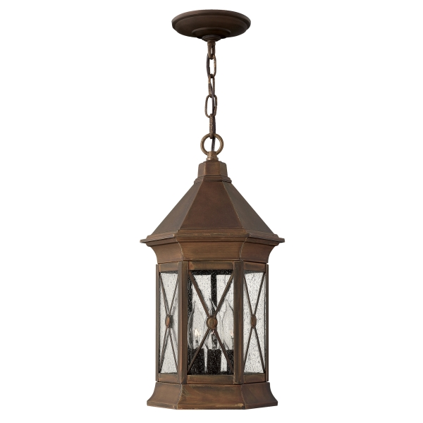 Elstead Brighton Chain Outdoor Lantern