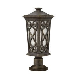 Enzo Small Outdoor Pedestal Light