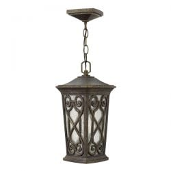Elstead Enzo Small Chain Outdoor Lantern