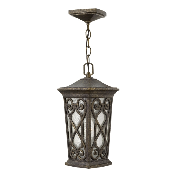 Enzo Small Chain Outdoor Lantern