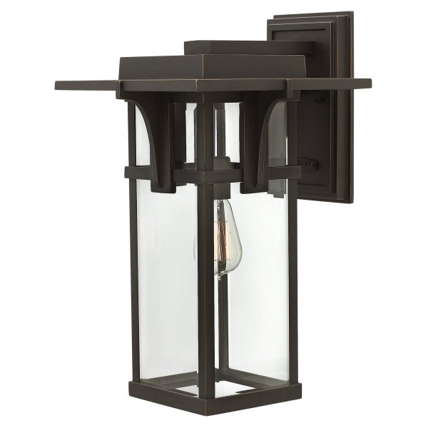 Elstead Manhattan Outdoor Wall Lantern - Large