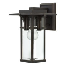 Manhattan Outdoor Wall Lantern - Small