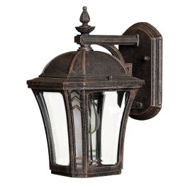 Elstead Wabash Small Outdoor Wall Lantern