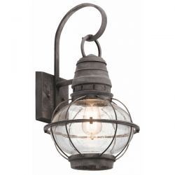 Elstead Bridge Point Outdoor Wall Lantern - Large