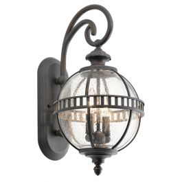 Elstead Halleron 2lt Outdoor Wall Lantern