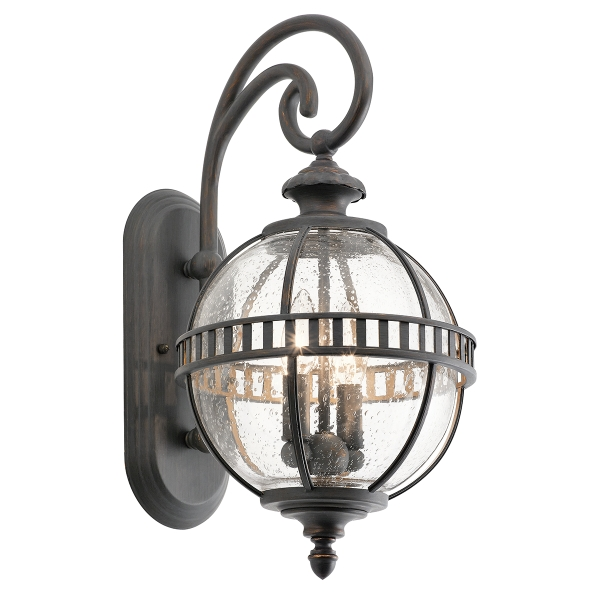 Halleron 2lt Outdoor Wall Lantern