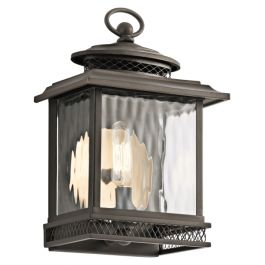 Pettiford Small Outdoor Wall Lantern
