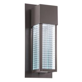 Sorel 1lt Outdoor Wall LED in Architectural Bronze