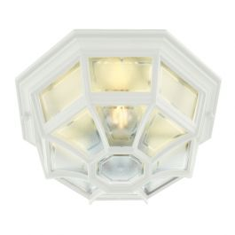 Elstead Latina Outdoor Light in White
