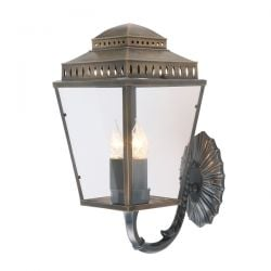 Mansion House Outdoor Wall Lantern in Brass