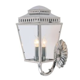 Elstead Mansion House Outdoor Wall Lantern in Polished Nickel