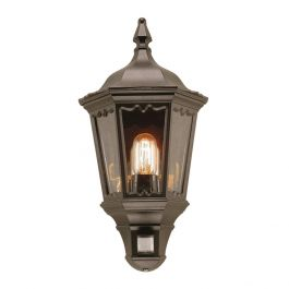 Medstead Outdoor Half Lantern With PIR Motion Sensor