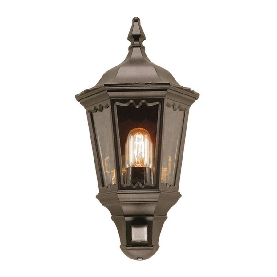 Elstead Medstead Outdoor Half Lantern With PIR Motion Sensor