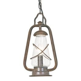 Elstead Miners Chain Outdoor Lantern