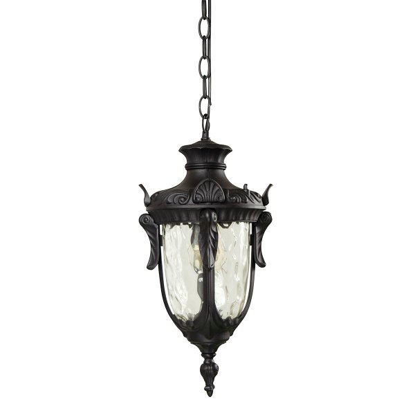 Philadelphia Chain Outdoor Lantern Black