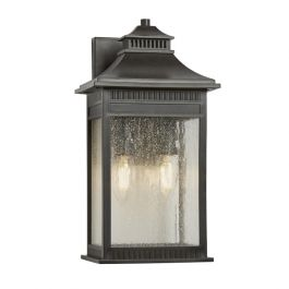 Elstead Livingston Medium Outdoor Wall Lantern