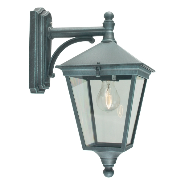 Elstead Turin Down Outdoor Wall Lantern Verdi