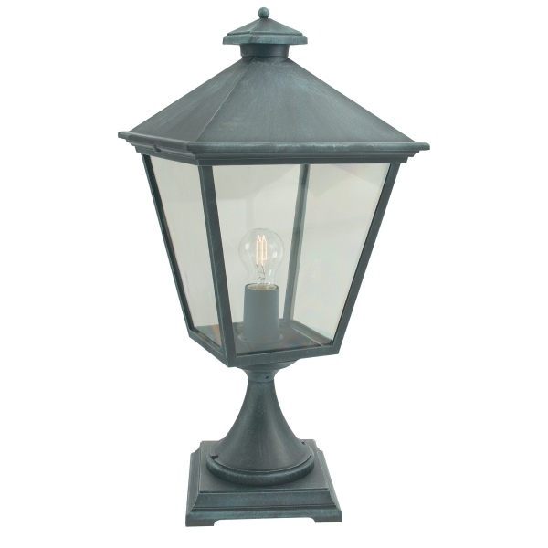 Elstead Turin Grande Outdoor Pedestal Light in Verdi