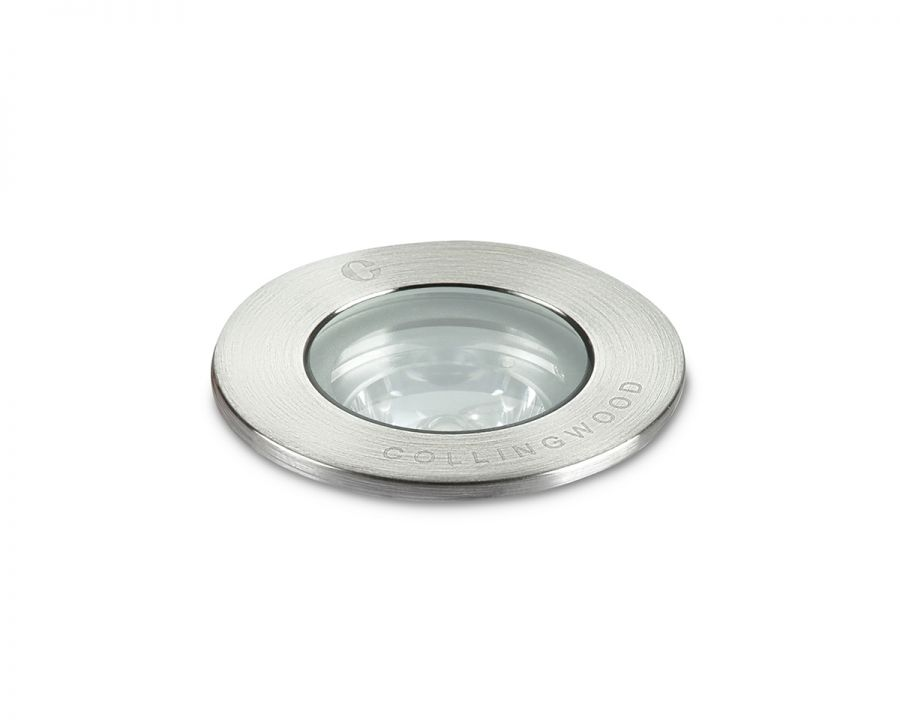 Collingwood 1W Red Low Profile Ground LED Light, 38° Beam Angle