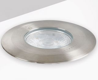 Collingwood 2.9W Warm White Ground Light in Stainless Steel