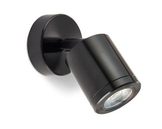 Collingwood Warm White Wall Light in Black