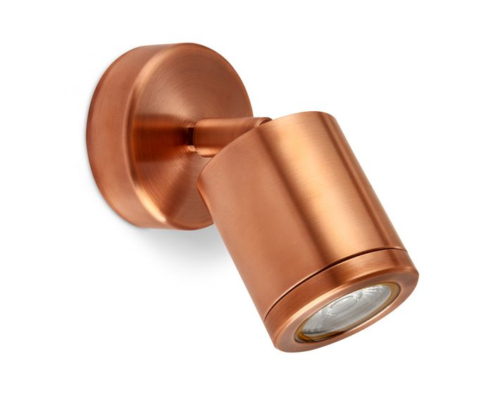 Collingwood Extra Warm White Wall Light in Copper