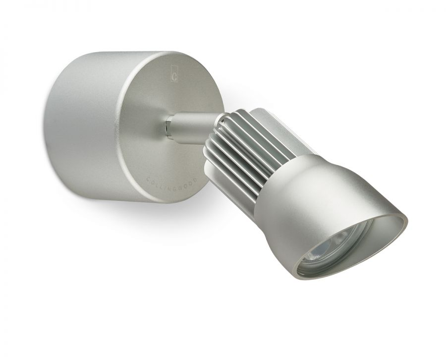Collingwood Warm White Wall LED Light in Silver