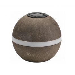 Solar Powered Decorative Granite Sphere Garden Light By Smart Solar