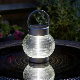 Solar Powered Globe Lantern By Smart Solar