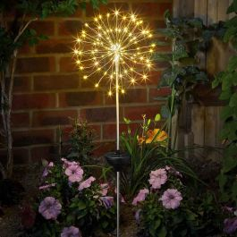 Solar Powered Decorative Starburst Stake Light By Smart Solar