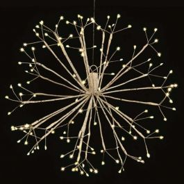50cm Copper Hanging Sputnik Light With 140 Warm White LEDs