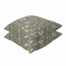 Country Teal Outdoor Scatter Cushion 45x45cm - Pack Of 2