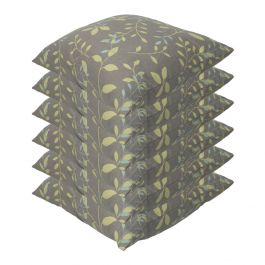 Country Teal Outdoor Scatter Cushion 45x45cm - Pack Of 6