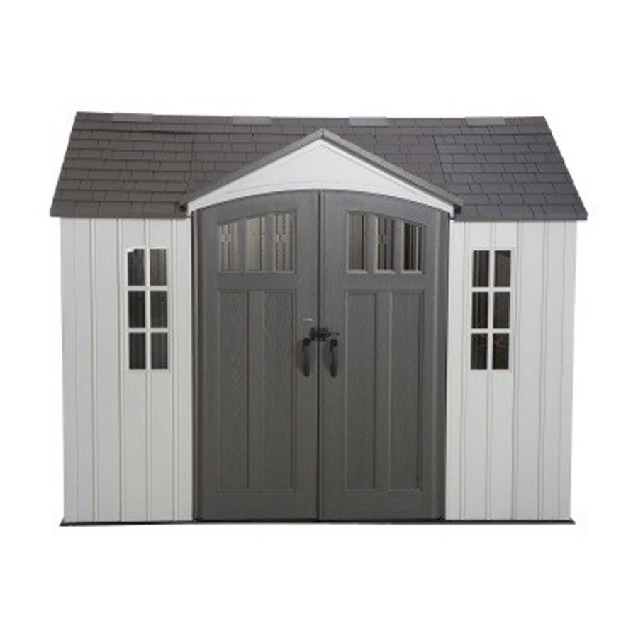 Lifetime 10ft x 8ft Heavy Duty Plastic Shed